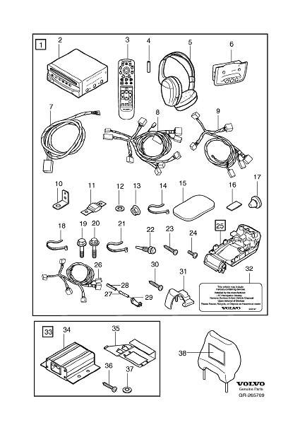volvo xc90 rse wiring harness  volvo  auto wiring diagram