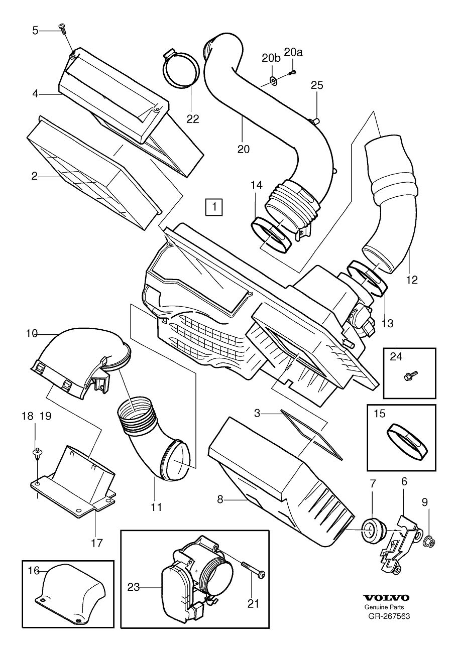 volvo xc90 fuel filter location