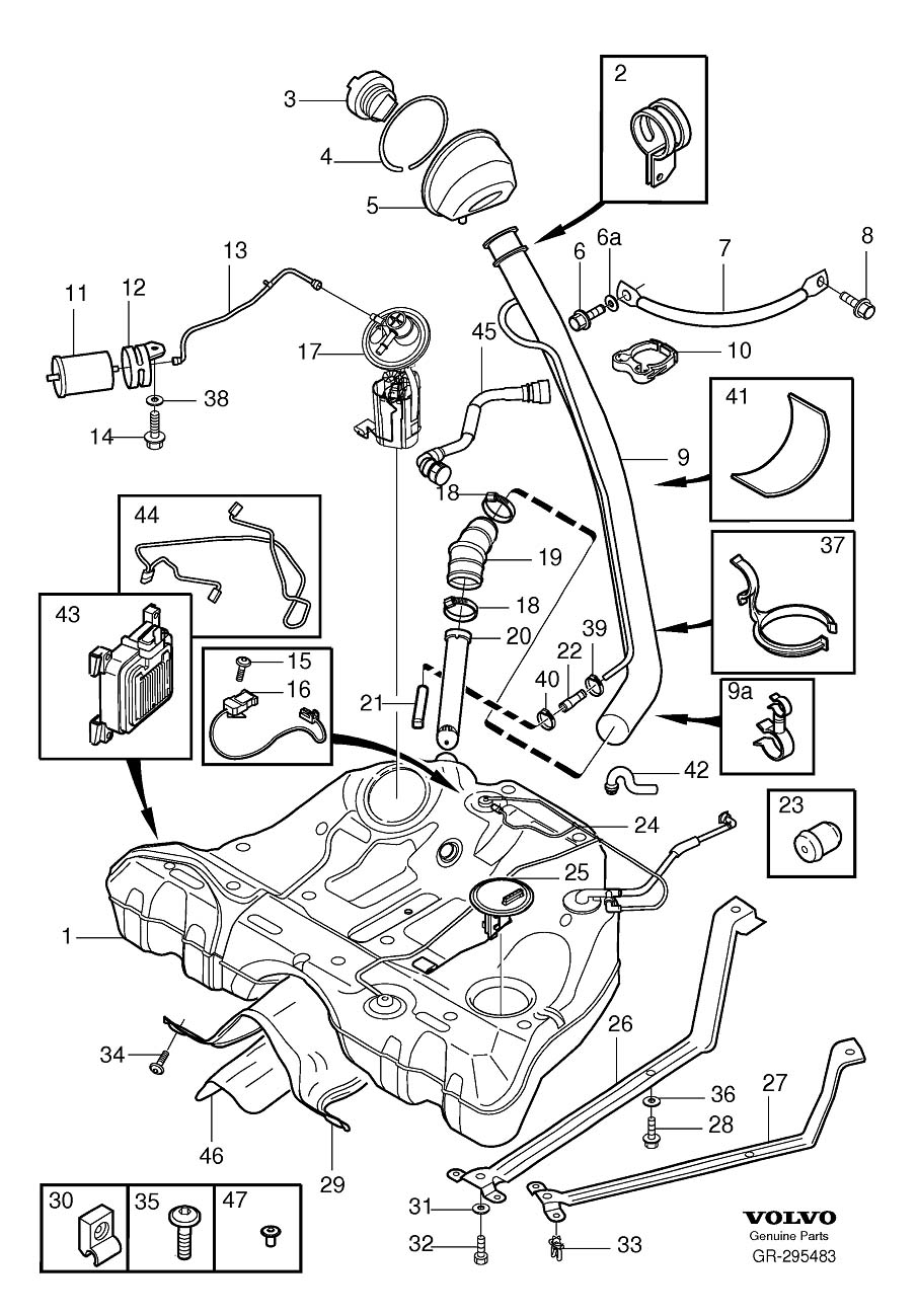 similiar 2004 volvo s60 2 5t parts keywords for 2005 volvo xc90 on parts of a 2004 volvo c70 engine diagram