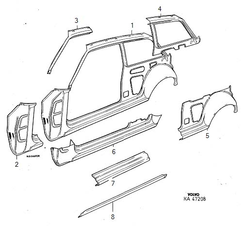 Utility Body Replacement Parts : Service body door parts related keywords