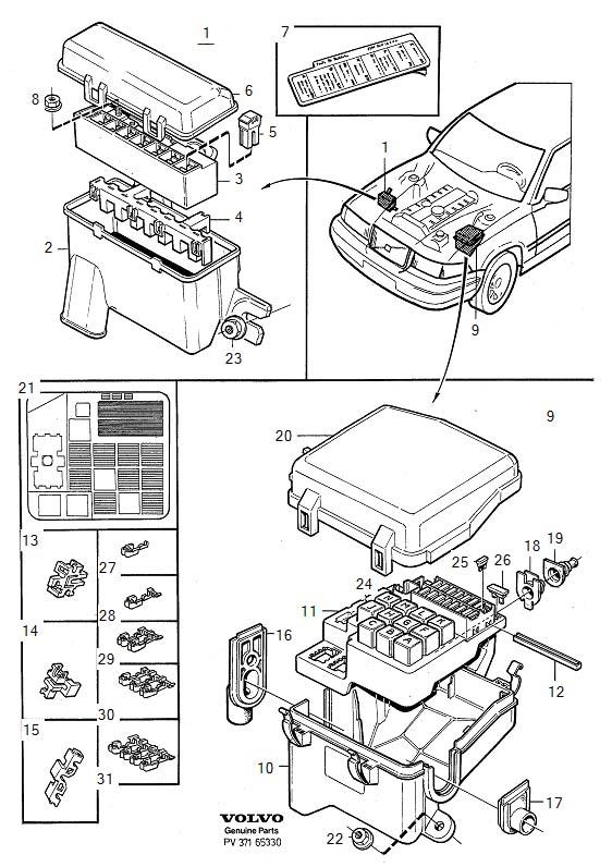 1996 volvo 850 vacuum diagram html